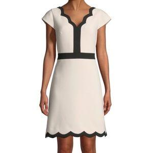 Kate Spade | Size 6. Pink Scallop Dress